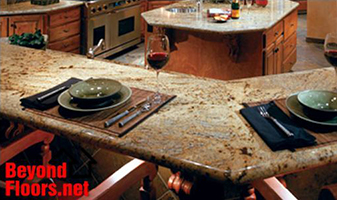 Update your kithcen with new Granite surfaces from Beyond Floors.Net an Abbey Carpet Showroom.