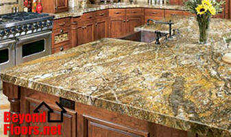 Granite Countertops will improve the look of your kitchen. Beyond Floors.Net an Abbey Carpet Showroom