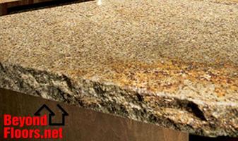 New Granite counter-tops from Beyond Floors.Net in Webster, TX.  Abbey Carpet & Floor.