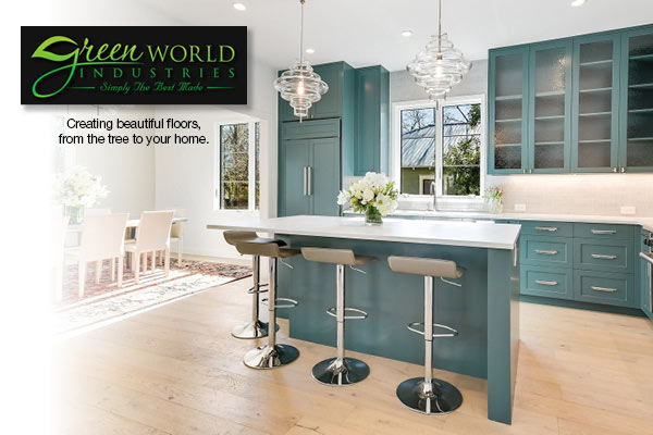 Green World Industries. Creating beautiful floors, from the tree to your home