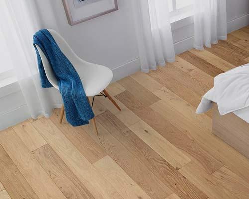 Regal Frontier Bianco hardwood room scene