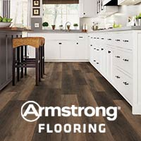 Armstrong® Waterproof Luxury Vinyl flooring offers some of the most stunning styles and colors in the industry! Visit our showroom where you're sure to find flooring you love at a price you can afford!